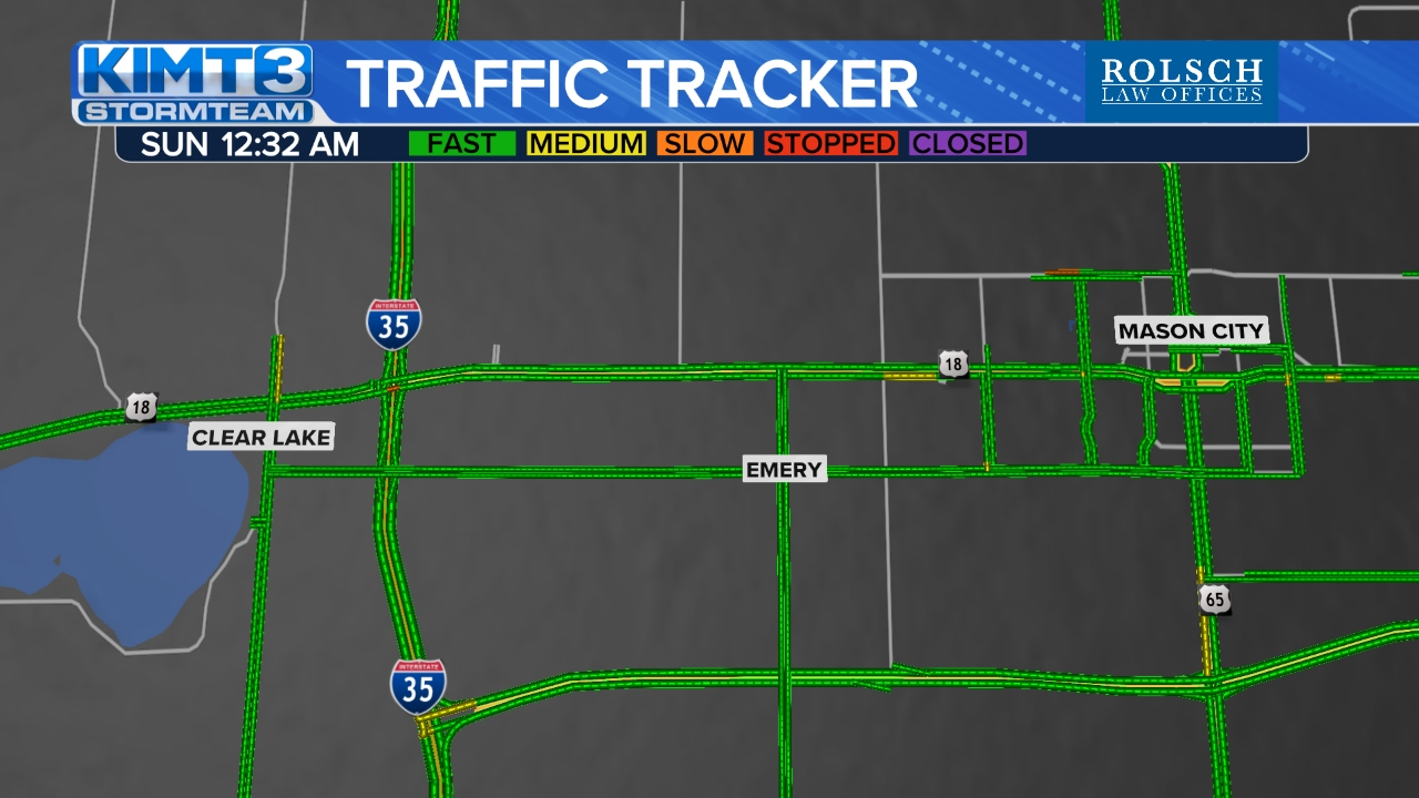 Mason City/Clear Lake Traffic