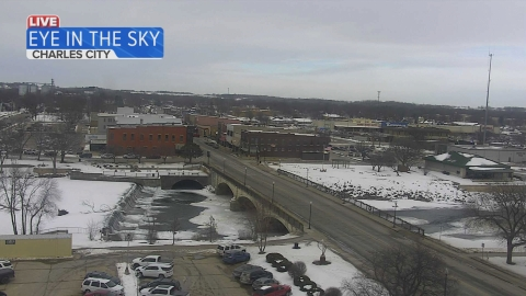 Camera image from Charles City
